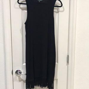 Lauren Ralph Lauren Fringe Bottom Dress Small